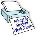 Education World: Worksheet Library: FREE Printable Online - Grades K-2...ready-to-print student worksheets organized by grade level. All the worksheets in this library were provided to Education World by our partner FreePrintableOnline.com.