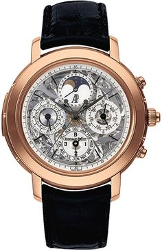 e2608264da8 Audemars Piguet Jules Audemars Grande Complication 18K Pink Gold Case  Openworked Dial 42 mm Watch Reference
