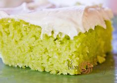 I was forwarded this recipe from my Aunt and don't know where it originated, but it is WAY too good not to share. Key Lime cake...it is a m...