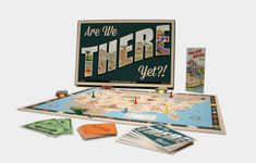 student-made graphic design board game project by Lou Stuber
