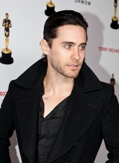 Jared Leto popped collar