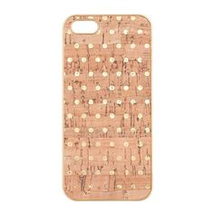 Dot-print cork case for iPhone® 5/5s