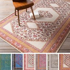 Hand-knotted Amesbury Traditional Wool Rug (5'6 x 8'6), $544.00