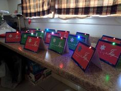Picture of LED Pop-up Holiday Card