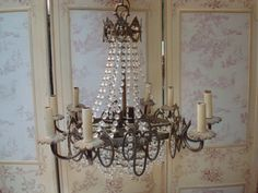 French Provincial Chandelier for Ms. Kennedy's Dining Room
