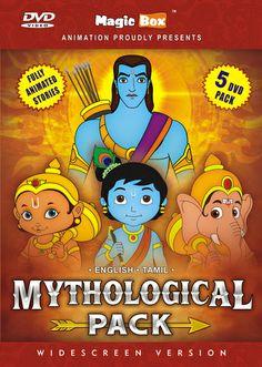 Epic Pack (Ramayana,2 Krishna, Ganesha, Hanuman)