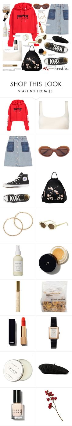 """Untitled #767"" by kawrose02 ❤ liked on Polyvore featuring Yeezy by Kanye West, rag & bone, Elizabeth and James, French Girl, Victoria Beckham, Donna Karan, Chanel, Birchrose + Co., Gucci and Bobbi Brown Cosmetics"