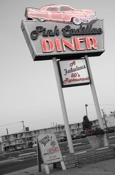 Pink Cadillac Diner in Wildwood, NJ