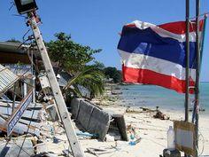 2004 Tsunami Devastation in Khao Lak, Thailand