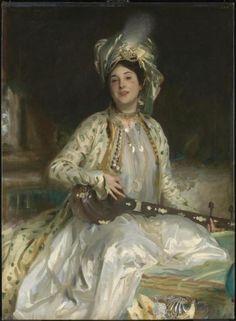 John Singer Sargent - Almina, Daughter of Asher Wertheimer (1908)
