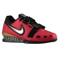 best cheap 0f23f 33b18 Nike Romaleos II Power Lifting Shoes - Varsity Red Met Gold Black (4