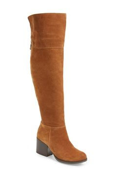 Free shipping and returns on Steve Madden 'Orabela' Knee High Boot (Women) at Nordstrom.com. Smooth suede paneling and a stacked heellenda stylish, vintage vibe to a knee-high boot.