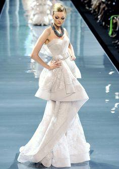 Dior haute couture, 2008.