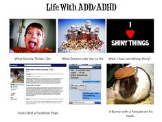 I live with people that are like this! ADD / ADHD - If You Laugh it's Because You Relate ;)