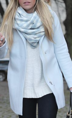 Powder Blue Coat