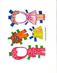 Little Kiddle Little Kiddle Paper Dolls •❤° Nims °❤•