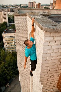 Climbing in Kiev