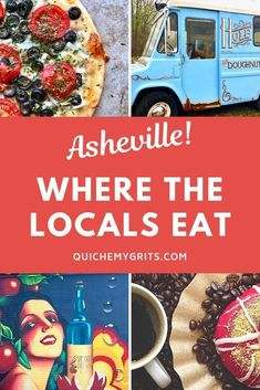 Discover the restaurants where the locals like to eat in Asheville, NC, one of the most popular travel destinations in the south. Ashville North Carolina, Ashville Nc, South Carolina, Solo Travel, Travel Usa, Travel Tips, Travel Ideas, Travel Destinations, Travel Europe