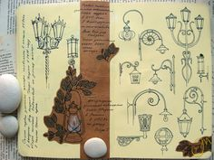 Love this- multiple types of the same thing sketched in a Moleskine