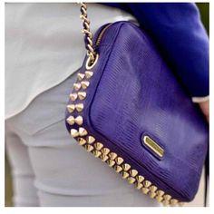Rebecca Minkoff bag - studs leather chain in a fresh way. Good behavior present?!