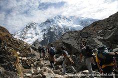 The Salkantay Trek to Machu Picchu. Did this trek in July 2014.  Words fail.