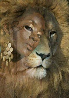 Lioness ..Lady + lion