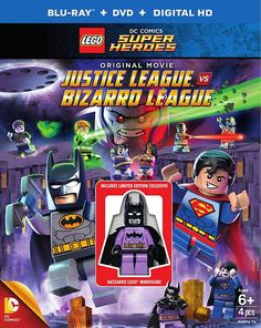 We have some new pricing details of the LEGO DC Comics Super Heroes: Justice League vs Bizarro League original movie that we reported on a few days ago. Dc Comics Super Heroes, Lego Dc Comics, Lego Justice League, Superman, Cinema 21, Cinema Movies, Lego Books, Amazon Black Friday, Shop Lego
