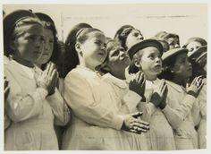 """""""Virgen de la Paz""""  22 de Febrero de 1948 -Inauguracion Monumento Virgen de la Paz Haynes Publishing Company Archive // Programa Archivos en Peligro - Biblioteca Británica // Endangered Archives Program -British Library"""