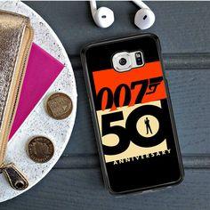 007 50 Anniversary Samsung Galaxy S6 Edge Case