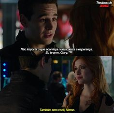 Simon And Clary, Clary E Jace, Isabelle Lightwood, Shadowhunters The Mortal Instruments, Shadow Hunters, Cassandra Clare, Greys Anatomy, Tv, Actors