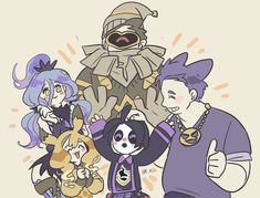 Gijinka Pokemon, Pokemon Alola, Pokemon Fan Art, Favorite Cartoon Character, Character Art, Pokemon Pearl, Ghost Pokemon, Ghost Type, Cool Anime Pictures
