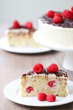 "Raspberry ""Piece of Cake"" Cake | Olga's Flavor Factory"