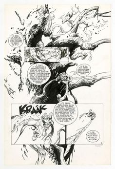 Claire Wendling (clever way to work a ton of text)