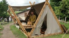 Viking Tents – Avalon Tents – Historical Tents- Viking Tents – Les Tentes d'Av… – Armchair world – bushcraft camping