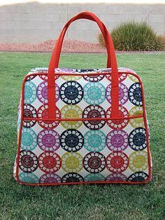 Amy Butler Weekender Bag~