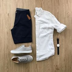 ideas for sport style street new balance Men With Street Style, Casual Street Style, Men Street, Sport Fashion, Mens Fashion, Style Fashion, Style Streetwear, Plain White Shirt, Casual Outfits