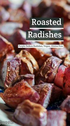 Garden Vegetable Recipes, Vegetable Side Dishes, Veggie Recipes, Baby Food Recipes, Gluten Free Recipes, Dinner Recipes, Purple Daikon Radish Recipe, Kosher Recipes, Cooking Recipes