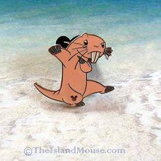 Disney HM Hidden Mickey Rufus Kim Possible Mole Rat Pin (US:58007) #OfficialDisneyProduct