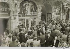 Cinema Roxy op de Meir te Antwerpen, op deze plaats staat al vele jaren het bebouw van C&A.