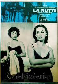 Αποτέλεσμα εικόνας για la notte movie posters