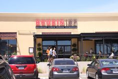 Boudin SF  20682 Stevens Creek Blvd Cupertino, CA 95014 (408) 638-8006 http://www.boudinbakery.com