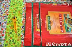 Feed Sack Bag Tutorial to get square bottom // deer corn feed sack feed bag-- DID it! Awesome! Saw them at craft fairs for $10...which is about half the cost of the feed anyway. I've got chickies to feed, so might as well use the sacks when they are empty.