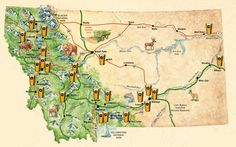 We found this map at #13. I carried it around in my purse marking off all the breweries we'd been to last summer. Typically though, I lost it. At least I know where to download it though!
