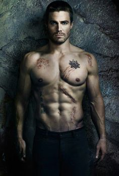 Stephen Amell: New Shirtless 'Arrow' Posters!: Photo Stephen Amell goes shirtless in these two new posters to promote his hit CW series Arrow. The actor plays Oliver Queen, who was missing and presumed… Arrow Tv, Arrow Cast, Team Arrow, Stephen Amell Arrow, Arrow Oliver, Stephen Amell Body, Christian Grey, Stephen Amell Workout, Steven Amell