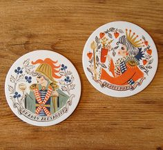 LOVE!!!!!!    http://phdesignshop.bigcartel.com/product/royal-cocktail-coasters