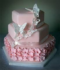 Risultati immagini per torte a piani con farfalle