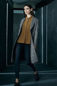 A tweed overcoat smartens up even the most casual of outfits. #AW15edit #newlook #fashion