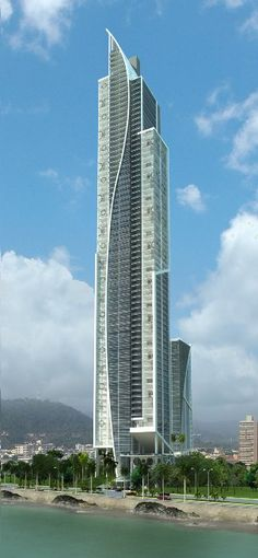Yoo & Arts Tower, Panama City by Bettis - Tarazi Arquitectos :: 80 floors, height 264m