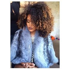 Yes. @h7_nnlc  (at www.kurleebelle.com) #curls #bighair #color