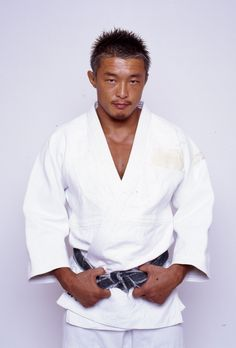 Yoshihiro Akiyama (秋山 成勲 Akiyama Yoshihiro?), born Choo Sung-hoon (Hangul: 추성훈, Hanja: 秋成勳), is a Japanese mixed martial artist and judoka. He is a fourth-generation Japanese of Korean descent and acquired Japanese nationality in 2001. He won gold at the 2001 Asian Championships and 2002 Asian Games for South Korea and Japan respectively.